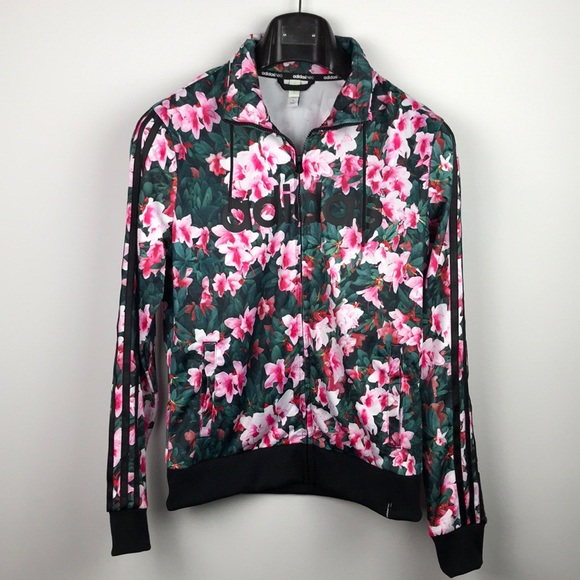 Adidas giacche & cappotti neo floreale giacca poshmark
